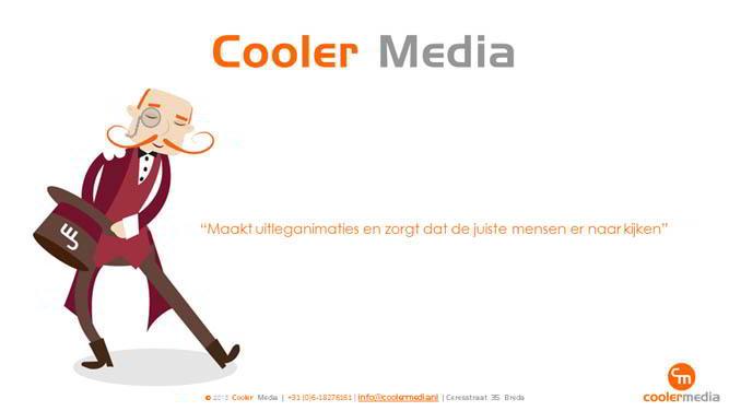 Start van Cooler Media