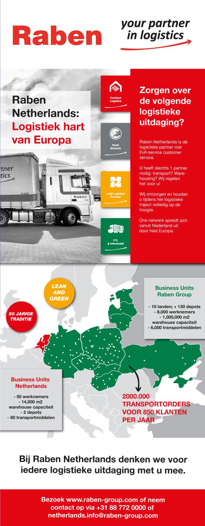 raben logistiek hart van europa