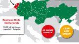 Raben - Logistiek hart van Europa - Maatwerk infographic