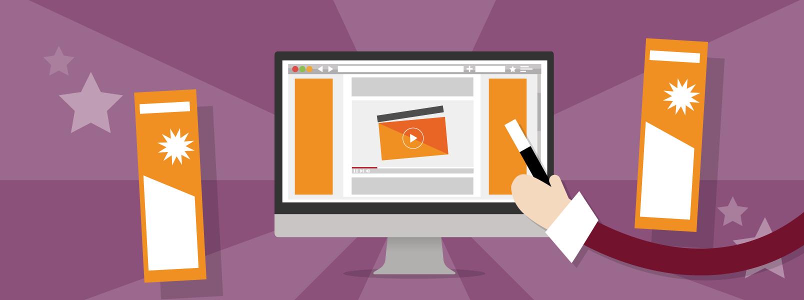 Jouw videomarketingcampagne - Banners