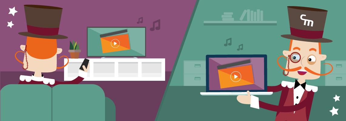 Kosten en opbrengsten tv vs. online commercial 2017