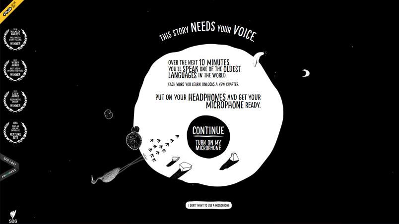 Interactieve websites inspiration