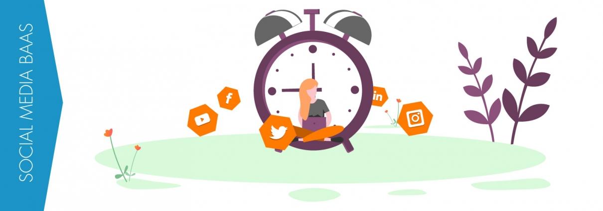 Social media video baas