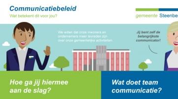 Gemeente Steenbergen - Communicatiebeleid