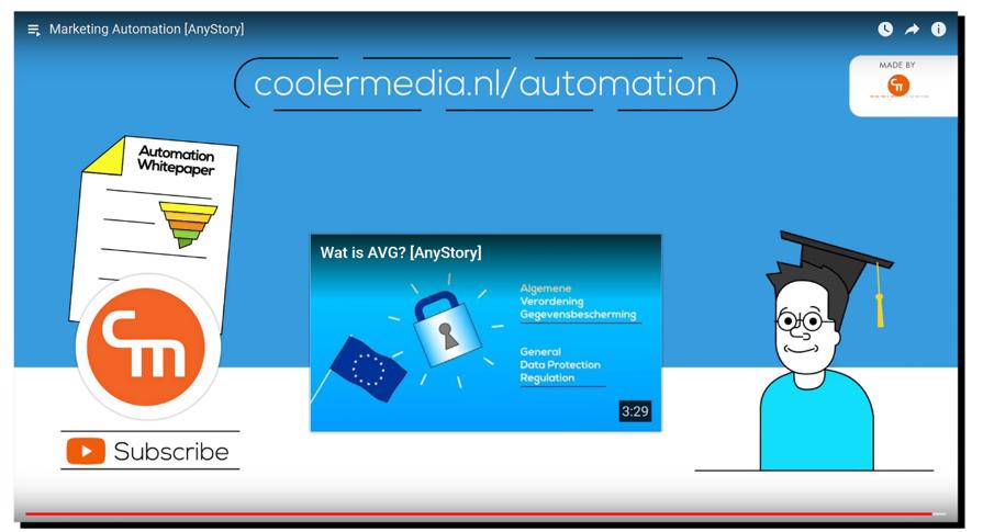 YouTube video marketing automation