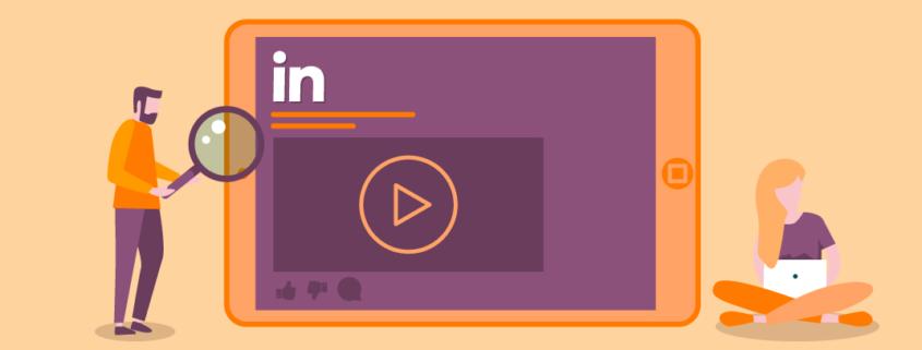 linkedin video advertenties