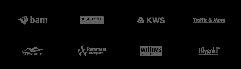 logowall bouw