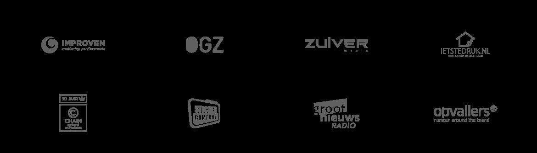 logowall taal media communicatie