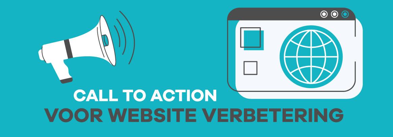 call to action voor website verbetering