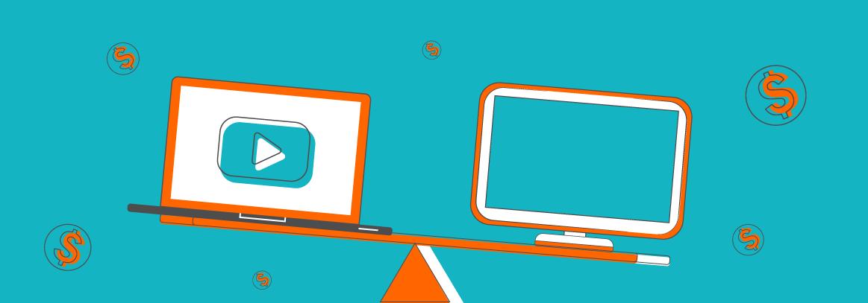Blog header kosten tv reclame vs