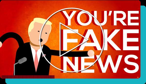 Landingpage header Fake News